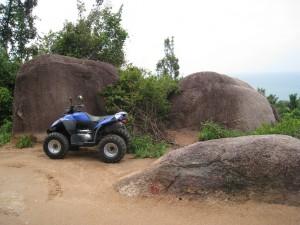 Cesty na Koh Tao